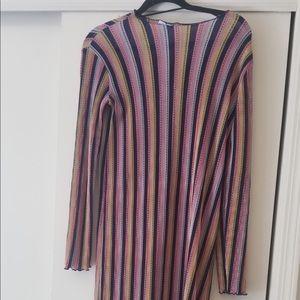 Striped Zara Midi Dress